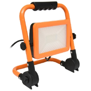 LED reflektor podst., 50W, 4000K, 4000lm, IP65, oranž